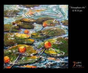 eau-nénuphars-bleu-paysage-nature