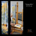 Art, artiste, peintre, Baie-Comeau, Côte-Nord, Québec, peinture