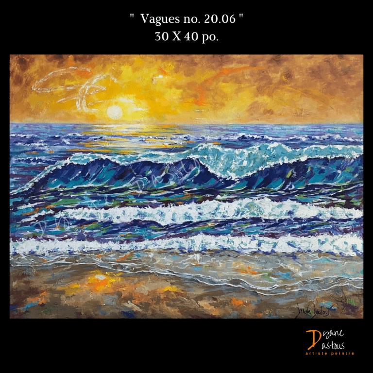 vagues, eau, soleil, bleu
